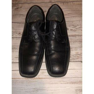 Dockers Mens Dress Shoes Black Lace Up Size 10